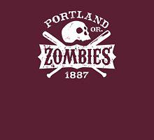 Portland Zombies Deadball Crest White T-Shirt