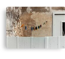 dance of the clothespins Canvas Print