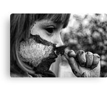 Holding on to Humanity Canvas Print