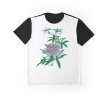 Passion Flower Graphic T-Shirt