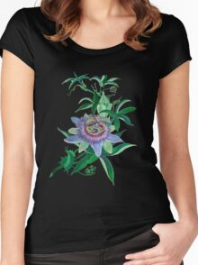Passion Flower Women's Fitted Scoop T-Shirt