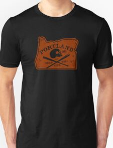 Portland Deadball Oregon Logo T-Shirt