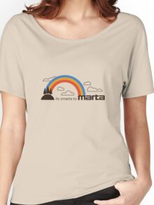 It's smarta to MARTA! Women's Relaxed Fit T-Shirt