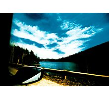 on the road in Québec Photographic Print