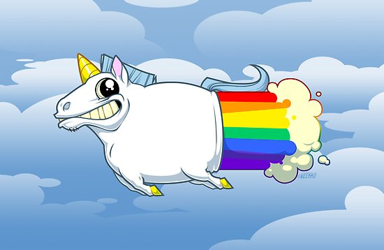 Unicorn Farts by neekko