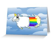 Unicorn Farts Greeting Card