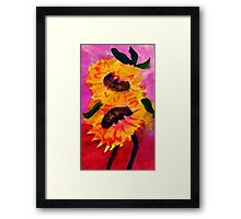Happy Mothers Day!  watercolor Framed Print