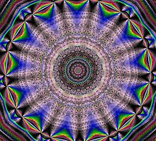 Kaleidoscopic Ripples by Charldia