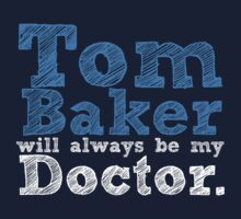 Tom Baker will always be my Doctor by inkandstardust