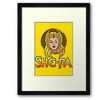 SHE-RA Framed Print