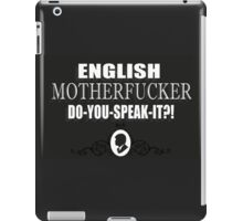Pulp Fiction quote 3 iPad Case/Skin