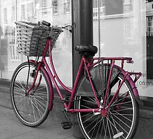 Pink Bicycle by redown