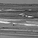 Enniscrone Surfing Dude. by Maybrick