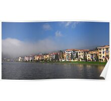 Sapa Lake in North Vietnam Poster