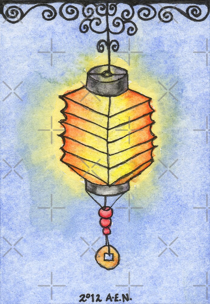 Paper Lantern 4 by Amy-Elyse Neer