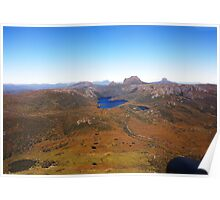 Beautiful Tasmania - Honing in on Cradle Mountain Poster