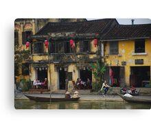 Buildings of Hoi An, Vietnam Canvas Print