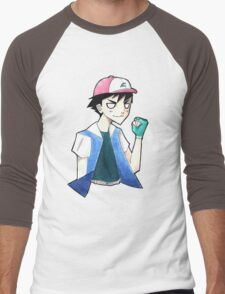 Pokemon: Ash Ketchum Men's Baseball ¾ T-Shirt