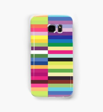 Compelling Colorful Striped Pattern Samsung Galaxy Case/Skin