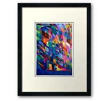 Fire In The Foundry Framed Print