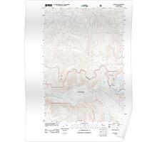 USGS Topo Map Washington State WA Elk Rock 20110901 TM Poster