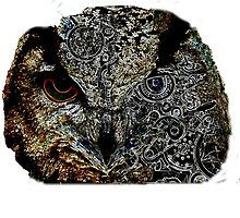 Robot owl Thing by i1aaci5aac