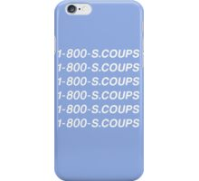 SEVENTEEN 1-800-S.COUPS iPhone Case/Skin