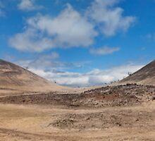 Volcanic landscape by Alex Preiss