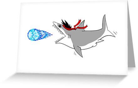 Sharkryuken! by sharkandfriends