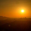 California's Setting Sun by Benjamin Curtis