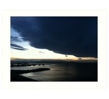 Puget Sound sunset at Edmonds Art Print