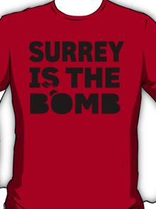 Surrey Is The Bomb dot com 3.0 T-Shirt