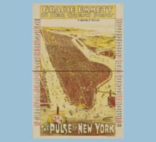 Panoramic Maps Gracie Emmett in her great play the Pulse of New York One Piece - Short Sleeve
