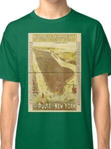 Panoramic Maps Gracie Emmett in her great play the Pulse of New York Classic T-Shirt