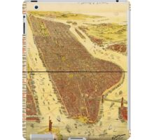 Panoramic Maps Gracie Emmett in her great play the Pulse of New York iPad Case/Skin