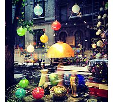 Shop Window - Christopher Street - Greenwich Village, New York City Photographic Print