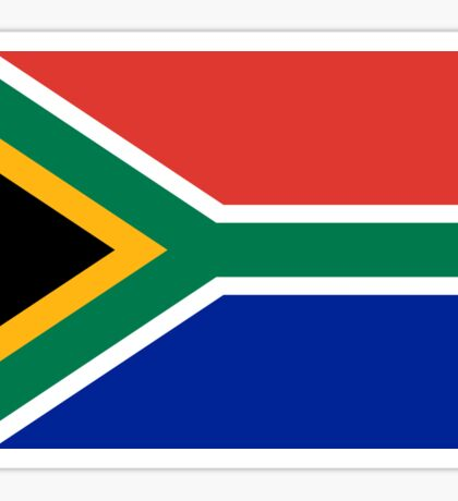 National flag of the Republic of South Africa Authentic version Sticker