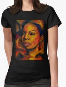 I Put A Spell On You - Nina Simone Womens Fitted T-Shirt