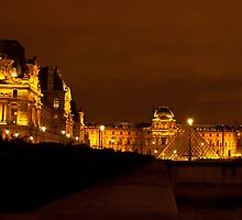 Evening at the Louvre by Bob and Nancy Kendrick