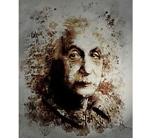 Einstein Photographic Print
