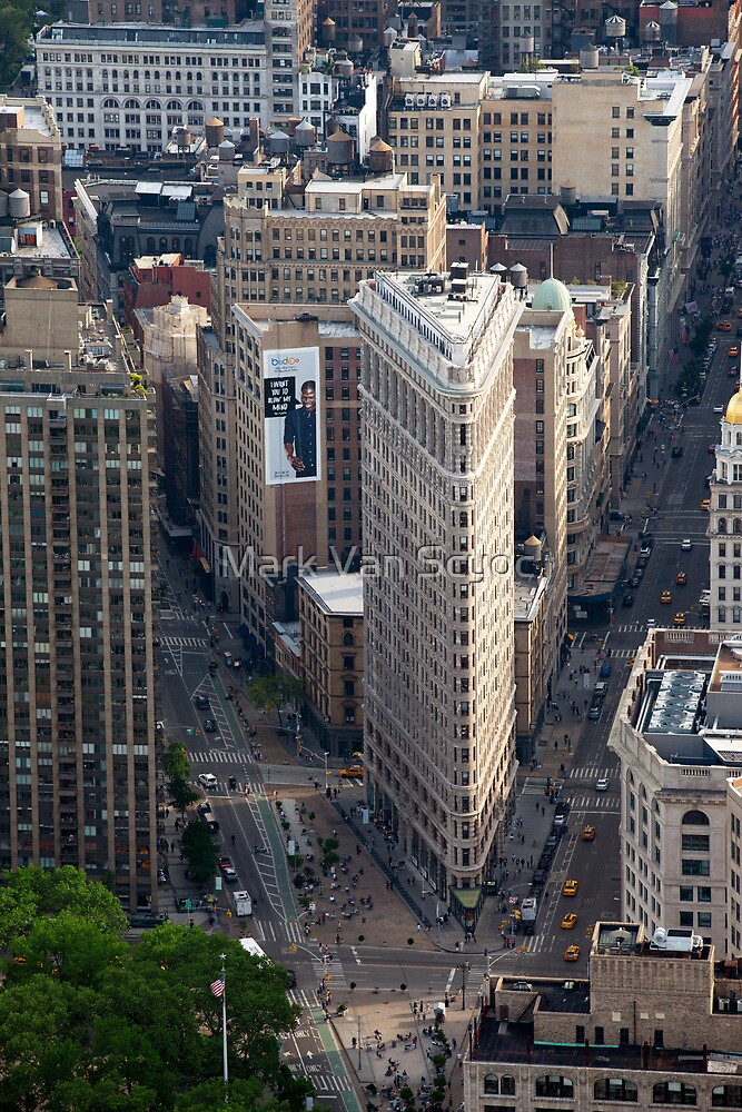 Flatiron Building by Mark Van Scyoc