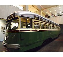 Vintage Philadelphia PCC Trolley, SEPTA Museum, Philadelphia, Pennsylvania  Photographic Print