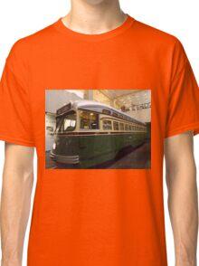 Vintage Philadelphia PCC Trolley, SEPTA Museum, Philadelphia, Pennsylvania  Classic T-Shirt