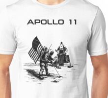 Apollo 11 - Black ink Unisex T-Shirt