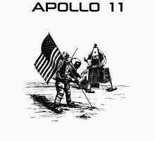 Apollo 11 - Black ink Unisex T-Shirt