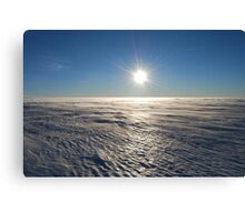 Antarctic Plateau Canvas Print
