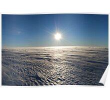 Antarctic Plateau Poster