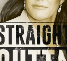Caitlyn Jenner straight outta testicles Sticker