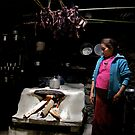 Tamang kitchen, Langtang region, Nepal by John Spies