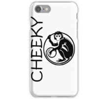 Cheeky Monkey iPhone Case/Skin